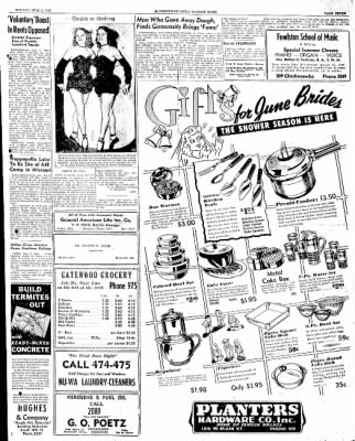 The Courier News from Blytheville, Arkansas on June 2, 1947 · Page 7