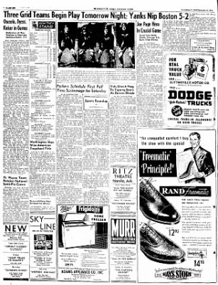 The Courier News from Blytheville, Arkansas on September 8, 1949 · Page 6