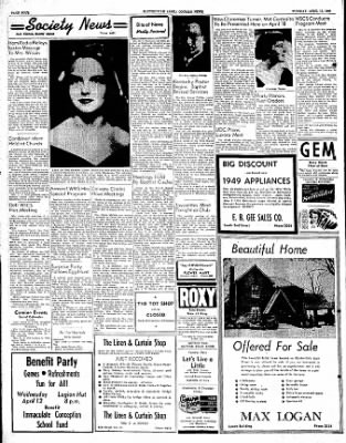The Courier News from Blytheville, Arkansas on April 11, 1950 · Page 4