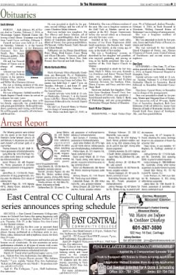 Scott County Times from Forest, Mississippi on February 10