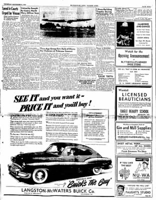 The Courier News from Blytheville, Arkansas on September 8, 1949 · Page 9