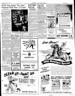 The Courier News from Blytheville, Arkansas on April 11, 1950 · Page 7
