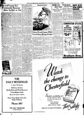 The Daily Messenger from Canandaigua, New York on July 6, 1939 · Page 6