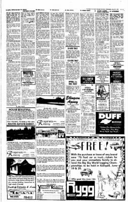 The Daily Inter Lake from Kalispell, Montana on May 26, 1976 · Page 13