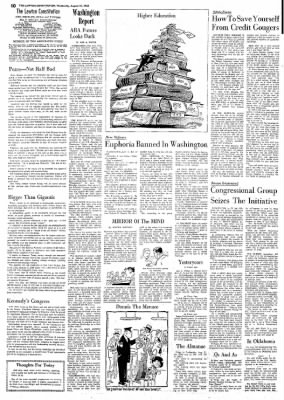 The Lawton Constitution from Lawton, Oklahoma on August 21, 1963 · Page 10