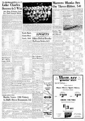 The Corpus Christi Caller-Times from Corpus Christi, Texas on August 5, 1951 · Page 87