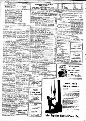 The Bessemer Herald from Bessemer, Michigan on November 7, 1941 · Page 8