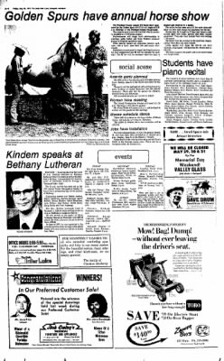 The Daily Inter Lake from Kalispell, Montana on May 28, 1976 · Page 4