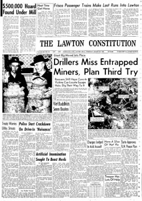The Lawton Constitution from Lawton, Oklahoma on August 22, 1963 · Page 1