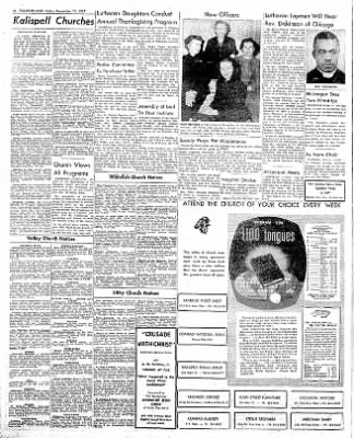 The Daily Inter Lake from Kalispell, Montana on November 15, 1957 · Page 6