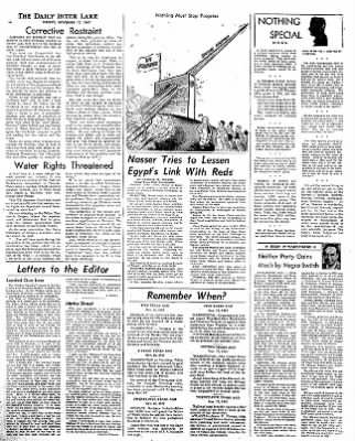 The Daily Inter Lake from Kalispell, Montana on November 17, 1957 · Page 4
