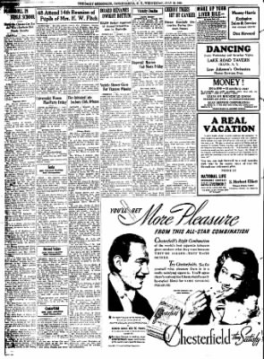 The Daily Messenger from Canandaigua, New York on July 12, 1939 · Page 2
