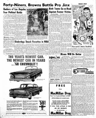 The Daily Inter Lake from Kalispell, Montana on November 17, 1957 · Page 6