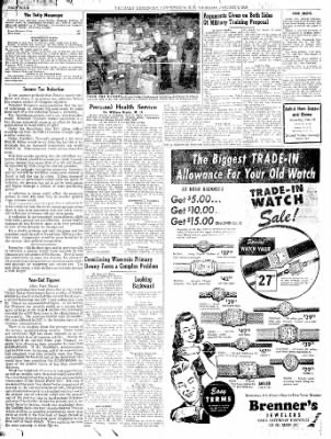 The Daily Messenger from Canandaigua, New York on January 8, 1948 · Page 6