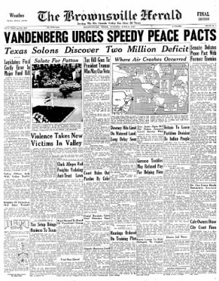 The Brownsville Herald from Brownsville, Texas on June 3, 1947 · Page 9