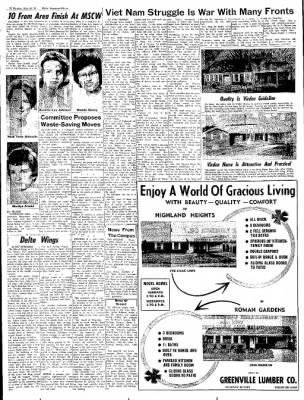 The Delta Democrat-Times from Greenville, Mississippi on May 30, 1965 · Page 22
