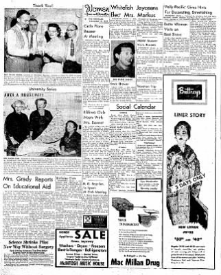 The Daily Inter Lake from Kalispell, Montana on November 18, 1957 · Page 6