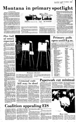 The Daily Inter Lake from Kalispell, Montana on June 1, 1976 · Page 1