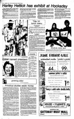The Daily Inter Lake from Kalispell, Montana on June 1, 1976 · Page 4