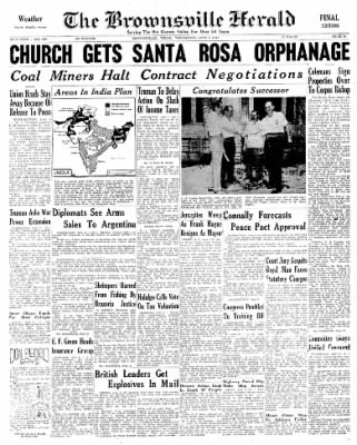 The Brownsville Herald from Brownsville, Texas on June 4, 1947 · Page 13