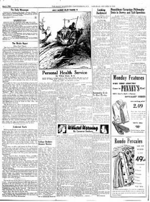 The Daily Messenger from Canandaigua, New York on January 10, 1948 · Page 2