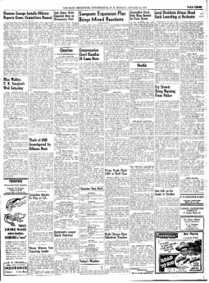 The Daily Messenger from Canandaigua, New York on January 12, 1948 · Page 5
