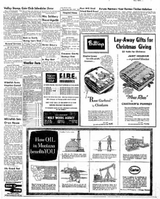 The Daily Inter Lake from Kalispell, Montana on November 20, 1957 · Page 3