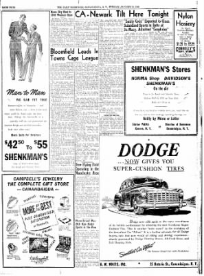 The Daily Messenger from Canandaigua, New York on January 13, 1948 · Page 6