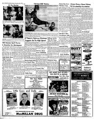 The Daily Inter Lake from Kalispell, Montana on November 24, 1957 · Page 2