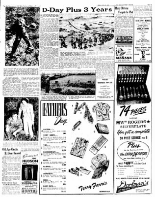 The Brownsville Herald from Brownsville, Texas on June 6, 1947 · Page 5