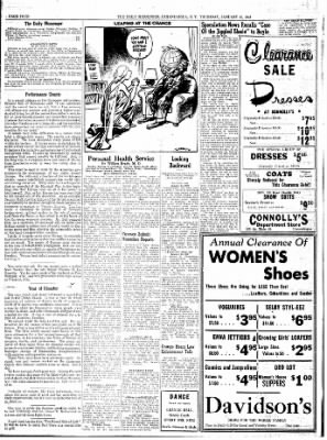 The Daily Messenger from Canandaigua, New York on January 15, 1948 · Page 6