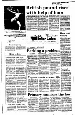 The Daily Inter Lake from Kalispell, Montana on June 8, 1976 · Page 1