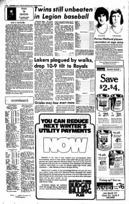 The Daily Inter Lake from Kalispell, Montana on June 9, 1976 · Page 10