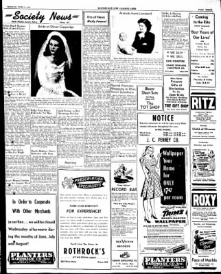 The Courier News from Blytheville, Arkansas on June 3, 1947 · Page 3