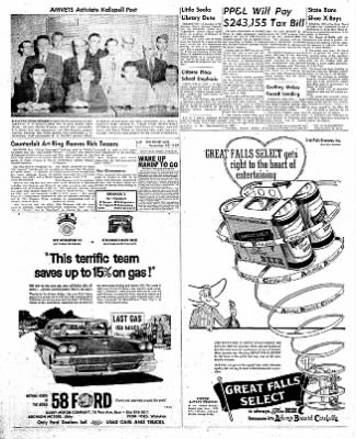 The Daily Inter Lake from Kalispell, Montana on November 26, 1957 · Page 8