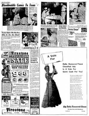 The Delta Democrat-Times from Greenville, Mississippi on July 27, 1960 · Page 10