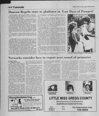 Longview News-Journal from Longview, Texas on April 29, 1984 · Page 139