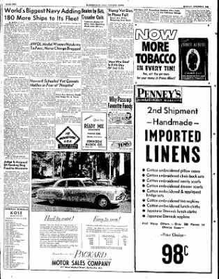The Courier News from Blytheville, Arkansas on October 8, 1951 · Page 1