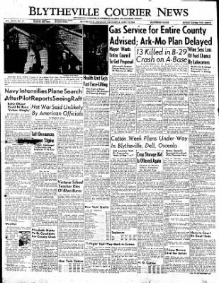 The Courier News from Blytheville, Arkansas on April 12, 1950 · Page 1