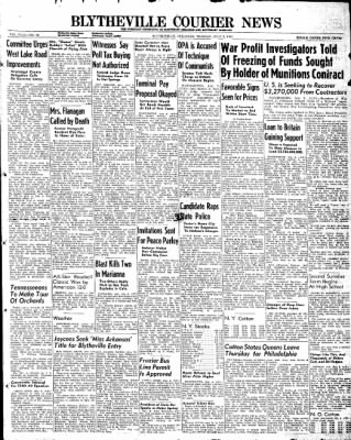 The Courier News from Blytheville, Arkansas on July 9, 1946 · Page 1