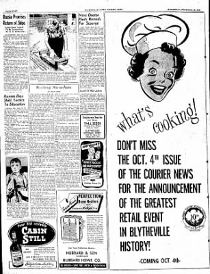 The Courier News from Blytheville, Arkansas on September 28, 1949 · Page 8