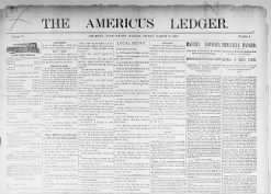The Americus Ledger