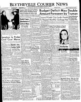 The Courier News from Blytheville, Arkansas on June 15, 1949 · Page 1