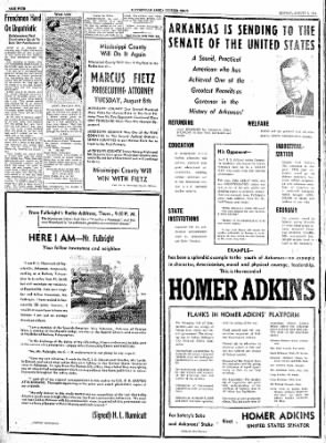 The Courier News from Blytheville, Arkansas on August 7, 1944 · Page 4