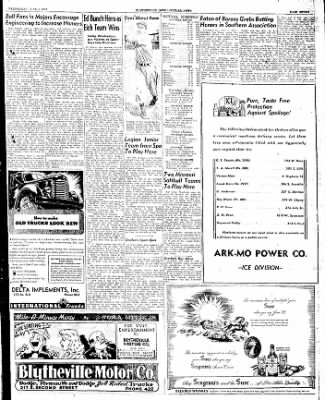 The Courier News from Blytheville, Arkansas on June 4, 1947 · Page 4