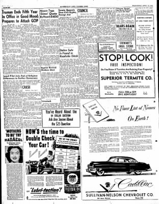The Courier News from Blytheville, Arkansas on April 12, 1950 · Page 6