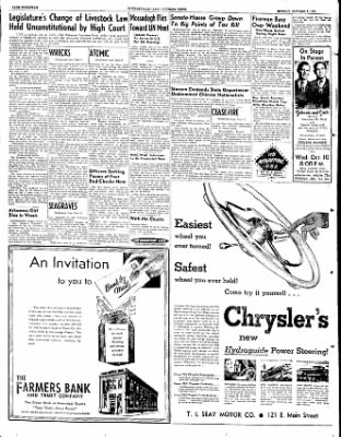 The Courier News from Blytheville, Arkansas on October 8, 1951 · Page 9