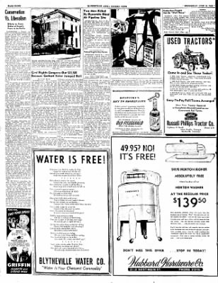 The Courier News from Blytheville, Arkansas on June 15, 1949 · Page 8
