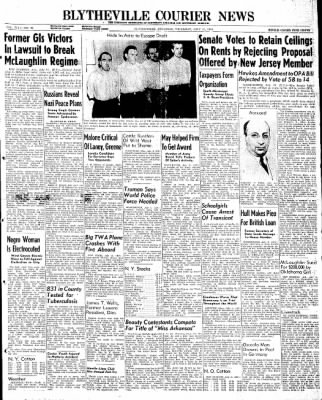 The Courier News from Blytheville, Arkansas on July 11, 1946 · Page 1