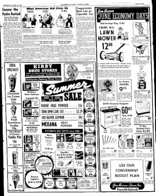 The Courier News from Blytheville, Arkansas on June 16, 1949 · Page 9